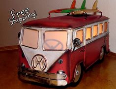A personal favorite from my Etsy shop https://www.etsy.com/listing/505205281/vintage-style-vw-volkswagen-bus-accent