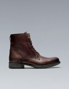 MINER'S BOOT - Shoes - Man - ZARA United States