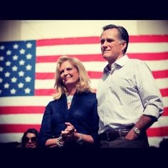 Mitt and Ann Romney during the Florida primary       LOVE MITT AND ANN.. THIS IS WHAT THEY ARE ALL ABOUT. AMERICA..