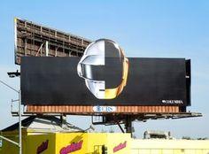Daft Punk: Random Access Memories Enough said, Daft Punk ad in LA Daft Punk Albums, Thomas Bangalter, Memory Album, Punk Art, Electronic Music, Music Stuff, Billboard, Album Covers, Random Access