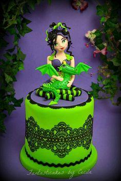 fairy cakes, fairi theme, littl fairi, dragon cakes, fantast cake, themed cakes, theme cake, fantastic cake, fairi cake