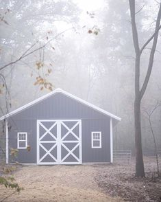 Winter EVENT announcement!🌿🌲 • • Look at our barn!! I'm finally getting around to posting. We see it every morning as we walk to the… See It, This Is Us, White Barn, Announcement, Amanda, Shed, Outdoor Structures, Winter, Instagram