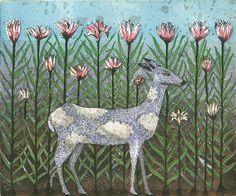 Kirsi Neuvonen, Taivaanrannan pikkuprinssi / The Little Prince of the Horizon Finland Modern Art, Contemporary Art, Collage Illustration, Animal Illustrations, Female Painters, Animal Paintings, Printmaking, Illustrators, Art Drawings