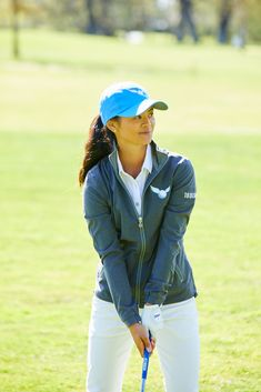 Windy and cold on the course? The Women's Windbreaker has you covered! Look good, play good. women golfers golf (This is an affiliate link) Make certain to check out this amazing item. Golf Attire, Golf Outfit, Womens Windbreaker, Italian Women, Golf Humor, Golf Fashion, Women's Fashion, Play Golf, Ladies Golf