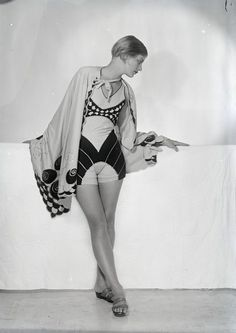 1930s, surrealist swimwear (Lee Miller by Man Ray)