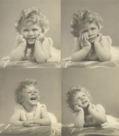 Queen Elizabeth II as a small girl, when she was titled HRH Princess Elizabeth of York.