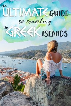 After traveling to many of beautiful destinations in Greece, I created the ultimate guide to traveling the Greek islands to help you plan your own trip!