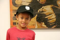 We weren't kidding. After seeing his little sister Gigi in one of #WDET #Detroit's hats, Max had to get one, too.