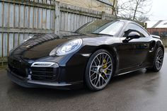 Porsche 911 Turbo S treated to carbon extras by Reforma. #carbon #hydrographics #porsche #911 #Turbo