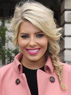 Hot lipstick ideas from celebrities :: Mollie King