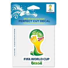 """FIFA World Cup 2014 Perfect Cut Decal (4"""" x 4"""")"""