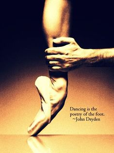 Dance quote by John Dryden