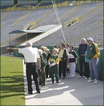 A visit to #Wisconsin isn't complete without a tour of the sacred #Lambeau Field. Experience the #Packers' history-rich facility first-hand and see several behind-the-scenes areas.