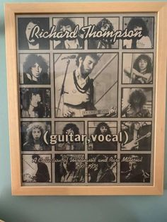 Richard Thompson, Writer, Singer, Baseball Cards, Shit Happens, Writers, Singers, Authors