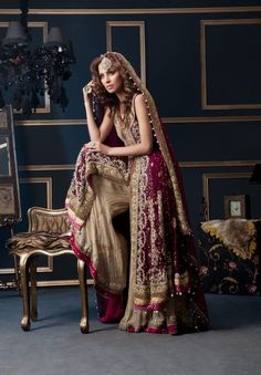 Pakistani Bridal Couture!!