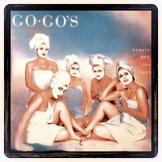 The Gogos Beauty and the Beat Vintage Album Cover