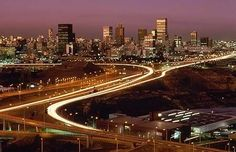Johannesburg is similar to the world, holding us back from automaticly achieving the goal, the hill (Heaven)