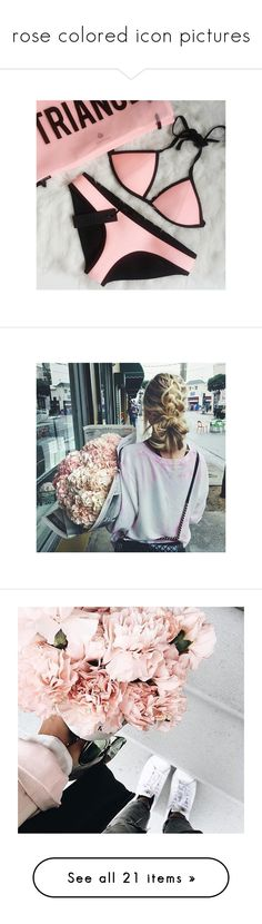 """""""rose colored icon pictures"""" by april-shxwers ❤ liked on Polyvore featuring home, home decor, pictures, photos, fillers // backgrounds, pics, pink pictures, fillers, pink home decor and pink home accessories"""
