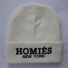 HOMIES NEW YORK B... http://www.jakkoutthebxx.com/products/winter-fashion-embroidery-hiphop-beanies-homies-new-york-knitted-hats-for-women-men-cap-gorro-touca-white?utm_campaign=social_autopilot&utm_source=pin&utm_medium=pin #fashionmodel  #model #fashiontrends #whatstrending  #ontrend #styleblog  #fashionmagazine #shopping