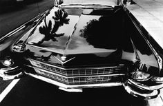 Cadillac on Worth Avenue, Palm Beach, Florida    photo by Frank Paulin, 1967