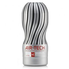 Breathtaking sensations, time and time again.  Following the breakthrough launch of the TENGA AIR-TECH and the global launch of the Vacuum Controller comes the AIR-TECH Vacuum Controller Compatible (VC)!  The brand new AIR-TECH is compatible with TENGA's new Vacuum Controller, and is also designed to provide a supreme suction sensation even on its own!
