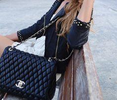 Black Chanel bag. Someday.