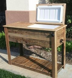 Awesome Upcycled Rustic Custom Wood Coolers