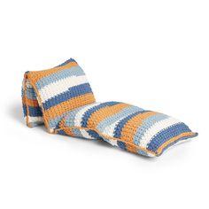 Bernat Crochet Floor Pillow Lounger Pattern | Yarnspirations