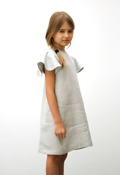 MOTORETA SS15 Polis grey linen Dress #lookbook #motoreta