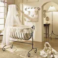 wrought iron baby cribs - Google Search