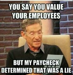 Hahaahah very true! Do we get extra money for dealing w ass wholes on black thursday amd friday?!