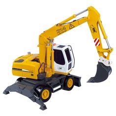 Dickie Toys - Remote Control Construction Wheel Excavator