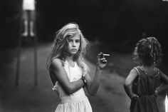 Sally Mann - Girl w/ Cigarette #bw #kid