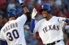 #MLB: Carlos Gómez dispara jonrón con las bases llenas en paliza de Rangers a Marineros
