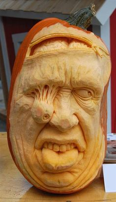 It may not look like it but, I've got my eye on you. - Ray Villafane carving