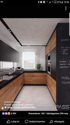 Contemporary wood Kitchen Interior Design is part of Kitchen cabinet design - Welcome to Office Furniture, in this moment I'm going to teach you about Contemporary wood Kitchen Interior Design Farmhouse Kitchen Decor, Kitchen Interior, New Kitchen, Kitchen Wood, Rustic Farmhouse, Distressed Kitchen, Compact Kitchen, Kitchen Small, Kitchen Paint