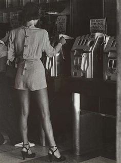 This obscure desire for beauty: Lisette Model: Reno, 1949. Source
