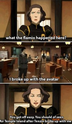 The Legend of Korra: my favorite part about that episode was this scene.