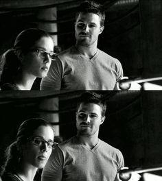 Arrow - Oliver & Felicity #Season1 #Olicity <3