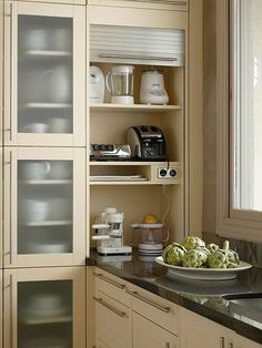 Image result for wall mounted kitchen appliance designs