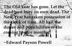 The old year 2014 has gone quote