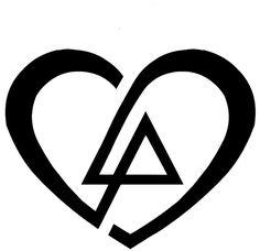 Linkin Park love tattoo Little Tattoos, Love Tattoos, Tatoos, Lp Tattoo, Talinda Bennington, Linkin Park Logo, Linking Park, Linkin Park Chester, Mike Shinoda