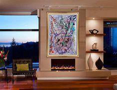 Dale Chihuly Original Monoprint Painting Signed Abstract Glass Ikebana Artwork   eBay