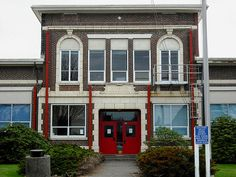 My High School!!!!! Too bad it was torn down...:( Built in 1925, this high school in Forks, Washington serves more than 300 students in the area.