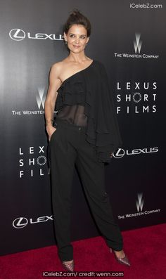 Katie Holmes 2nd annual Lexus Short Films 2014 presents 'Life is Amazing' by The Weinstein Company and Lexus at the SVA Theater http://icelebz.com/events/2nd_annual_lexus_short_films_2014_presents_life_is_amazing_by_the_weinstein_company_and_lexus_at_the_sva_theater/photo5.html