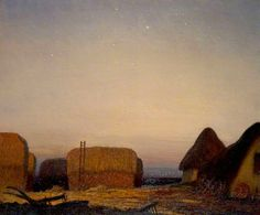 The Stars Coming Out, 1912 - George Clausen (English, 1852-1944)