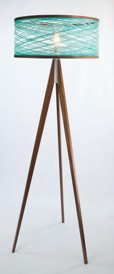 Just Modern, Inc. - Tripod Floor Lamp - Aqua, $1,150.00 (http://www.justmoderndecor.com/lighting/tripod-aqua-floor-lamp/)