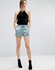 Women's shorts | Jersey, leather & denim shorts | ASOS