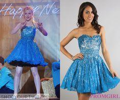 Liv & Maddie: Season 2 Episode 7 Liv's Blue Embellished Dress