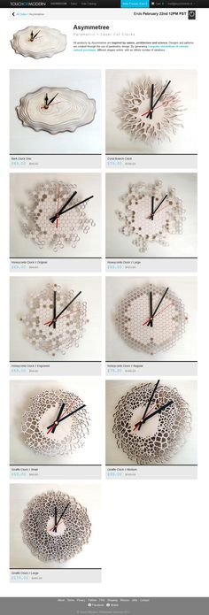 For all my USA and Canada based friends, get your clock now with a 30% discount at TouchOfModern! https://www.touchofmodern.com/sales/asymmetree